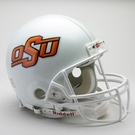 Oklahoma State Cowboys Riddell Authentic NCAA Full Size On Field Proline Football Helmet