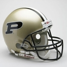 Purdue Boilermakers Riddell Authentic NCAA Full Size On Field Proline Football Helmet