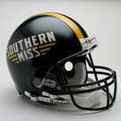 Southern Mississippi Golden Eagles Riddell Authentic NCAA Full Size On Field Proline Football Helmet