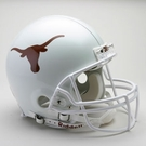 Texas Longhorns Riddell Authentic NCAA Full Size On Field Proline Football Helmet