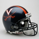 Virginia Cavaliers Riddell Authentic NCAA Full Size On Field Proline Football Helmet