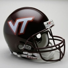 Virginia Tech Hokies Riddell Authentic NCAA Full Size On Field Proline Football Helmet