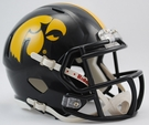 Iowa Hawkeyes Speed Revolution Riddell Mini Football Helmet