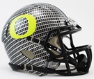 Oregon Ducks Speed Revolution Riddell Hydrofx Carbon Fiber Mini Helmet