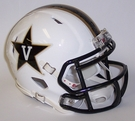 Vanderbilt Commodores Speed Revolution Riddell Mini Football Helmet
