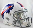 Buffalo Bills Riddell Authentic Revolution Speed NFL Full Size On Field Football Helmet