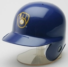 Milwaukee Brewers 1978-1993 Throwback Cooperstown Major League Baseball® MLB Mini Batting Helmet