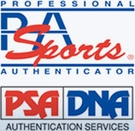PSA/DNA-Certificate of Authenticity