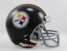 Mel Blount - Autographed Pittsburgh Steelers Throwback Riddell Mini Football Helmet