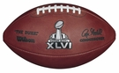 Wilson Official Leather NFL® SUPER BOWL XLVI Game Football