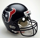 Houston Texans Autographed Full Size Riddell Deluxe Replica Football Helmets