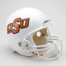 Oklahoma State Autographed Full Size Riddell Deluxe Replica Football Helmets