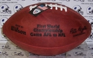 Wilson F1007 Official Leather NFL Super Bowl I Game Football