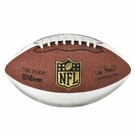 Mini Wilson  NFL®  Signature Series  Football  F1691 (3 white panels & 1 brown)