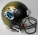 Jacksonville Jaguars 2013-2017 Throwback Riddell Authentic NFL Full Size On Field Proline Football Helmet
