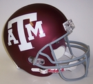 Texas A&M Aggies Riddell NCAA Full Size Deluxe Replica Football Helmet