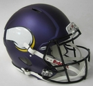 Minnesota Vikings Riddell Authentic Revolution Speed NFL Full Size On Field Football Helmet