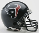 Houston Texans Autographed Mini Helmets