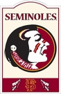 FLORIDA STATE SEMINOLES FSU - NCAA NOSTALGIC METAL SIGN
