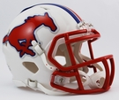 Eric Dickerson - Autographed SMU Mustangs Riddell Speed Mini Football Helmet
