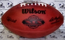 Wilson F1007 Official Leather NFL Super Bowl XIX Game Football