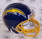 San Diego Chargers 1974-1987 Throwback VSR4 Riddell Mini Football Helmet