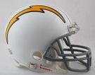 San Diego Chargers 1961-1973 Throwback VSR4 Riddell Mini Football Helmet