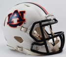 Auburn Tigers Speed Revolution Riddell Mini Football Helmet
