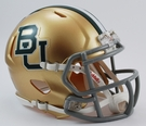 Baylor Bears Speed Revolution Riddell Mini Football Helmet