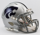 Kansas State Wildcats Speed Revolution Riddell Mini Football Helmet