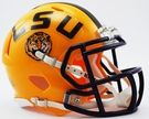 LSU Tigers Speed Revolution Riddell Mini Football Helmet
