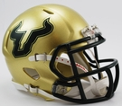 USF South Florida Bulls Speed Revolution Riddell Mini Football Helmet