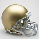 Joe Montana - Autographed Notre Dame Riddell Full Size Authentic Proline Football Helmet