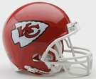Joe Montana - Autographed Kansas City Chiefs Riddell Mini Football Helmet