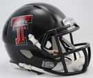 Texas Tech Speed Revolution Riddell Mini Football Helmet