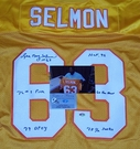 Lee Roy Selmon - Autographed Tampa Bay Bucs  Throwback , Orange Official Jersey