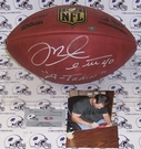 "Mike Alstott - Autographed Official Wilson NFL ""THE DUKE"" Football - PSA/DNA"