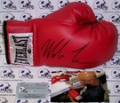Mike Tyson Autographed Everlast Leather Boxing Glove - PSA/DNA