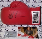 Mike Tyson Autographed Everlast Left Leather Boxing Glove - PSA/DNA