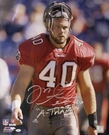 Mike Alstott  Autographed Tampa Bay Bucs 16x20 photo