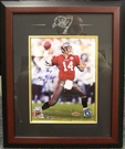 Brad Johnson - Autographed 8x10 photo Tampa Bay Bucs - Framed