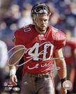 Mike Alstott - Autographed 11x14 photo Tampa Bay Bucs