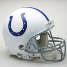 Indianapolis Colts Autographed Full Size On Field Authentic Proline Helmets