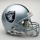 Oakland Raiders Autographed Full Size On Field Authentic Proline Helmets
