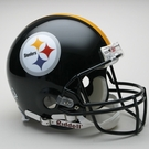 Pittsburgh Steelers Autographed Full Size On Field Authentic Proline Helmets