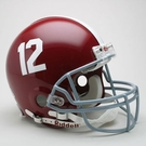 Alabama Crimson Tide Autographed Full Size On Field Authentic Proline Helmets