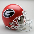 Georgia Bulldogs Autographed Full Size On Field Authentic Proline Helmets