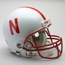 Nebraska Cornhuskers Autographed Full Size On Field Authentic Proline Helmets