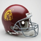 USC Trojans Autographed Full Size On Field Authentic Proline Helmets