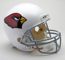 Arizona Cardinals Autographed Full Size Riddell Deluxe Replica Football Helmets
